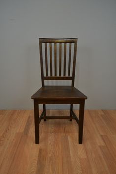 Slat Back Dining Chair from Solid Teak Wood