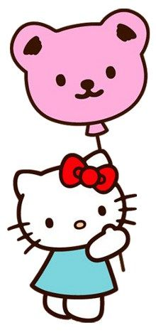 free hello kitty clip art pictures and images hello kitty rh pinterest com hello kitty clipart free birthday