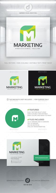 Marketing - Logo Design Template Vector #logotype Download it here: http://graphicriver.net/item/marketing-logo/11392478?s_rank=1113?ref=nexion