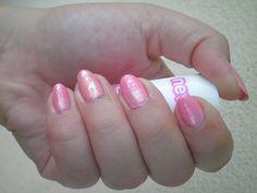 #notd #nailart #barkingblondie #bbloggers #nailstamping #naillacquer #moyra #pink