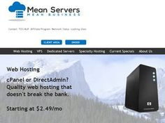 MeanServers - RAM:128 MB - HDD:10 GB