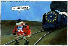 "Boris's ""Go whistle!"" Steve Bell cartoon in The Guardian. belltoon650"