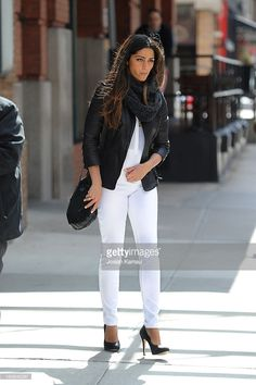 Camila Alves is seen in Tribeca on March 13, 2013 in New York City.