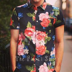 The Floral Shirt #menswear #mensfashion #mensstyle #shirt #style #justinlivingston #streetstyle #men #floral #flowers #trend #fashion