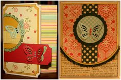 Tonic Studios Duo Ticket/Tag Punch, Multi Detail Butterfly & Multi Detail Pop-up Butterfly Punches - project by Missy Brozek