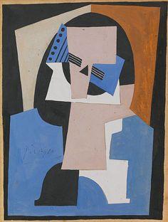 Pablo Picasso - Mandoline sur un Guéridon - 1920