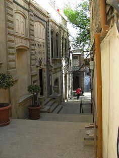 Alley in the Old City, Baku,   Azerbaijan