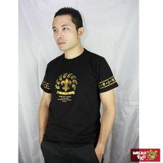 【AMERO】男裝短袖圓領精梳棉T恤(黑)-momo購物網