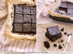 brownie de algarroba sin gluten