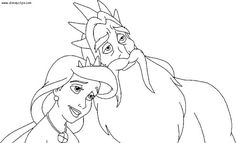 44 Best Disney World-Villains Coloring Pages images in