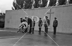 President John F. Kennedy laying a wreath at the grave of the executed 1916 leaders at Arbour Hill cemetery, Dublin. Arbour, John F Kennedy, History Photos, Photo Archive, Jfk, More Photos, Cemetery, Dublin, Celtic