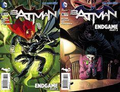 Batman Endgame Covers
