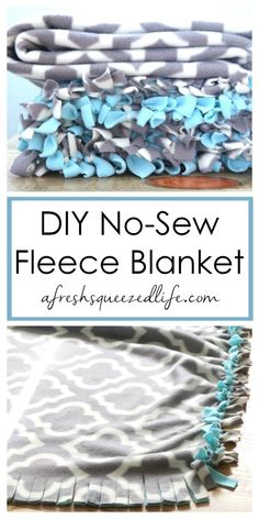 Diy Home Decor Projects, Easy Diy Projects, Decor Crafts, Home Crafts, Sewing Projects, No Sew Blankets, Cozy Blankets, Fleece Knot Blanket, Fleece Hats