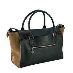 Nina Griscom for GiGi New York   Lily Tote Black   Pebble Leather