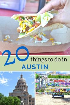City Guide: 20 Things to do in Austin Texas.  A city I want to return to over and over again!