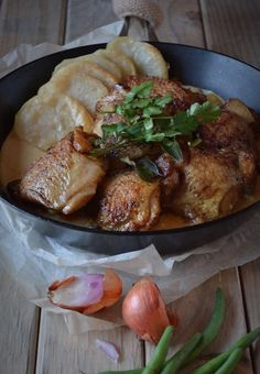 Modern Day Chicken Curry and Potatoes