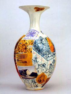Grayson Perry Plight of the Sensitive Child 2003 #ceramicart