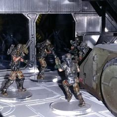 They turn off the lights?#LaserTerrain #avp #prodos #tabletopgame #tabletop @brushdemon #colonialmarines #wargaming #warmongers