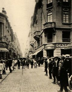 1918 - Rua São Bento x Rua Direita - Quatro Cantos - Eli Mendes
