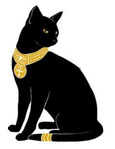 Egyptian Cat Halloween idea
