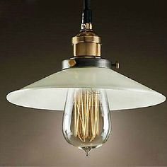 Loft Style In Painting Edison Vintage Industrial Pendant Lights Lamp For Dinning Room