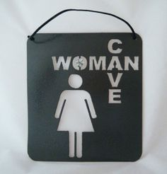 Woman cave sign @rebecca england
