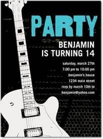 152 best music theme birthday ideas images on pinterest music birthday party invitations guitar star dwell birthday party let your favorite teenager rock out on his or her birthday with this fun music themed teen filmwisefo