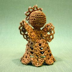 Crochet Angel using plarn