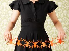 Spooky Paper Cutouts and 51 Other Halloween Craft Ideas
