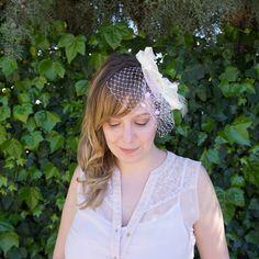 Bride Fascinator Fascinator, Captain Hat, Crown, Bride, Trending Outfits, Unique Jewelry, Hats, Handmade Gifts, Vintage