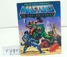 MOTU, King of Castle Grayskull, Mini Comic Book, Masters of the Universe, He-Man #Mattel
