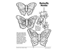 Make a Butterfly Mobile