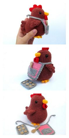 Amigurumi Chicken Free Pattern – Free Amigurumi Patterns Amigurumi Chicken Free Pattern – Free Amigurumi Patterns You are in the right place about Crochet scarf. Crochet Diy, Crochet Pattern Free, Crochet Animal Patterns, Easter Crochet, Stuffed Animal Patterns, Crochet Patterns Amigurumi, Crochet Crafts, Crochet Dolls, Crochet Projects