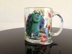 hand painted mug monsters (painted by Helen Krupenina)