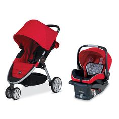 Designed to be an on-the-go travel system, the B-AGILE stroller and B-SAFE Infant Car Seat fit together seamlessly to create one of the lightest and easiest to use travel systems on the market. The integrated Britax Click & Go system provides a quick and secure connection so you can easily move your sleeping newborn from the car to the stroller.