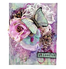 Gorgeous project by Fran Westmoreland for the PPP challenge! #ppp #prima #challenge #flowers