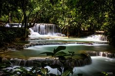 Kuang Si Waterfall by Andrea Muratori on 500px