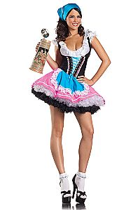 Dress up this Oktoberfest in this gorgeous German barmaid dress costume. Loads more oktoberfest costumes and accessories available online and in our Perth City store. Halloween Party Kostüm, Halloween Party Costumes, Girl Costumes, Adult Costumes, Costumes For Women, Maid Costumes, Adult Halloween, Women Halloween, Halloween Carnival