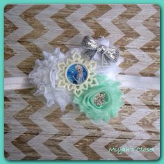 Frozen Inspired Headband Elsa Inspired Headband by MiyahsCloset, $13.99
