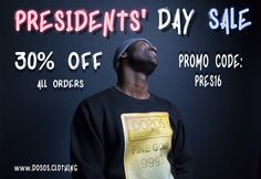 30% OFF All Orders  Visit Our Online Shop: www.DOSOS.CLOTHING  #DOSOS #DOSOSCLOTHING #DOSOSdotCLOTHING
