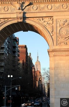 Washington Square Portal and 5th Avenue, NYC