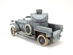 Rolls Royce Armoured Car 1914 | Yvan Garnier