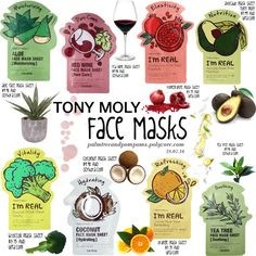 Get Your Glow On: Face Masks by palmtreesandpompoms on Polyvore featuring beauty, Tony Moly and Holmegaard