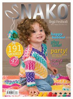 Site has back issues of crochet pattern books. Crochet Bebe, Crochet For Kids, Crochet Yarn, Knitting Yarn, Baby Knitting, Knitting Magazine, Crochet Magazine, Knitting Patterns, Crochet Patterns
