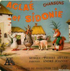 Série télé ancienne Aglaé et Sidonie