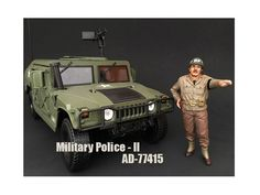WWII Military Police Figure II For 1:18 Scale Models by American Diorama - Brand New WWII Military Police Figure II For 1:18 Scale Models by American Diorama. Packed in a blister pack. Only one figure will be received. Each standing figure is approximately 4 inches tall.-Weight: 1. Height: 5. Width: 9. Box Weight: 1. Box Width: 9. Box Height: 5. Box Depth: 5