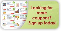 Grocery coupon network Sign up and receive more coupons Have to install coupon printer to use them