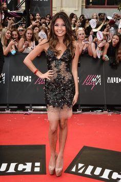 Cristine Prosperi at the 12th Annual MuchMusic Video Awards in Toronto on June 16, 2013