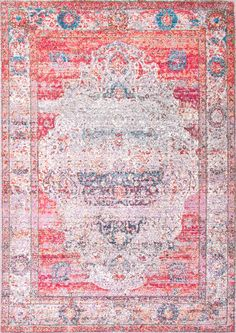 Better price, and basically the same as the one at Anthropologie  Silky Road Antique Brick Medallion AS19 Rug