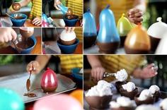 Chocolate Balloon Cups